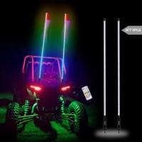 Комплект Светодиодных флагштоков LED для UTV/SSV/Б..